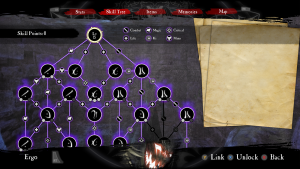 Anima - Gate of Memories - Skill Tree