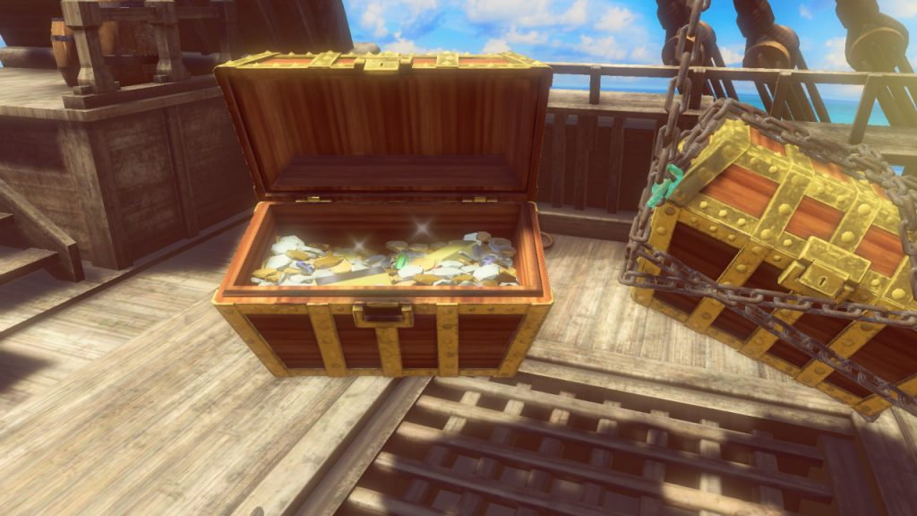 1, 2, Switch - Treasure Chest