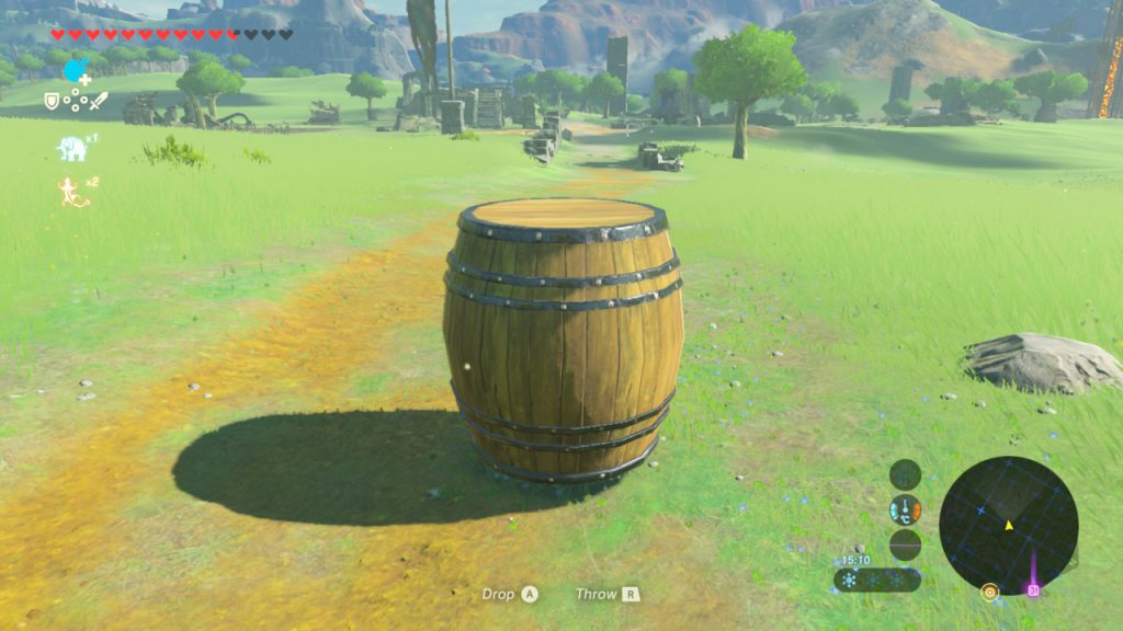 Breath of the Wild - Keg von Kakariko - Just Escaped His Doom
