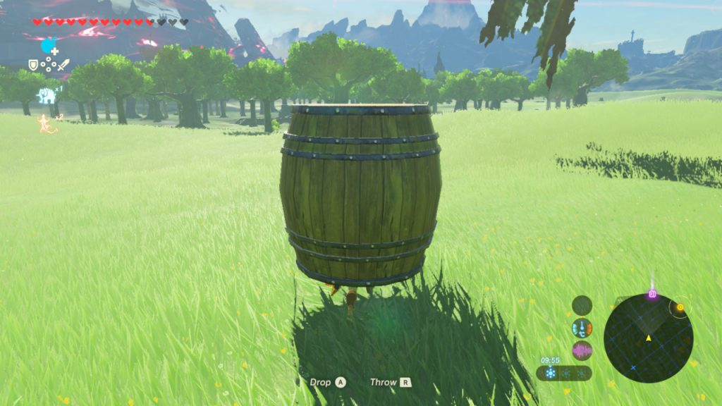 Breath of the Wild - Keg von Kakariko - Escapes Ganon Calamity