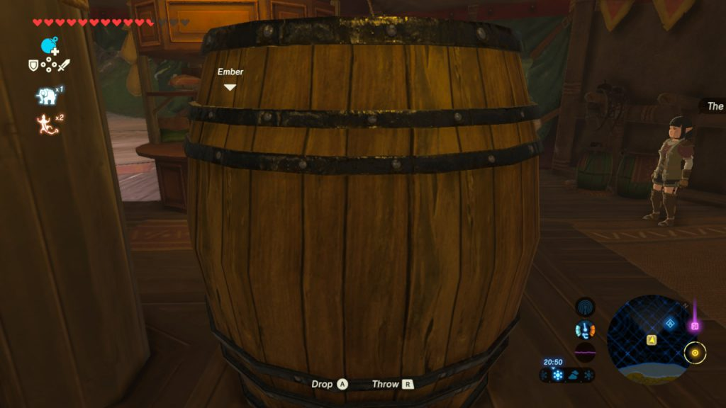 Breath of the Wild - Keg von Kakariko at the Inn