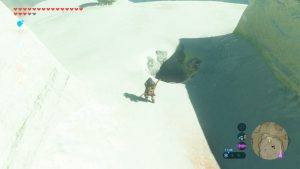 TLOZ - BotW Korok Guide - Snowball Hole in One