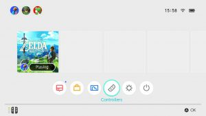 Nintendo Switch - Interface