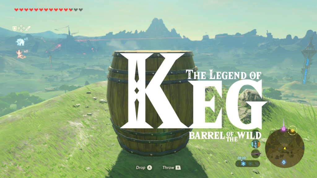 Breath of the Wild - The Legend of Keg -Barrel of the Wild
