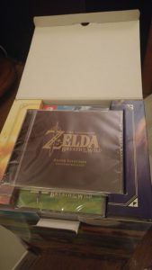 Unboxing Zelda Breath of the Wild Limited Edition