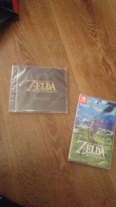 Unboxing Zelda Breath of the Wild Limited Edition Soundtrack and Game