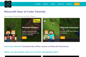 Learn To Program With Minecraft - Hour of Code Minecraft